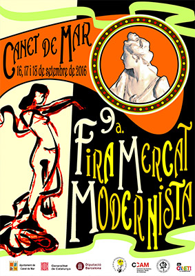 Cartell 9a Fira Mercat Modernista - 2016